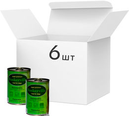 Упаковка влажного корма для собак Baskerville Баранина с картофелем и тыквой, 6 банок по 400 г (4250231533518-6) от Rozetka