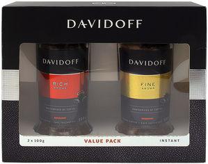 Набор Davidoff кофе растворимый Cafe Rich Aroma 100 г + Cafe Fine Aroma 100 г (4820120681646) от Rozetka