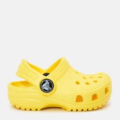 Сабо Crocs Kids Classic Clog K 204536-7C1-C12 29-30 18.3 см Желтые (887350923711) от Rozetka