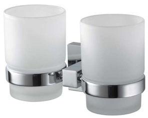Стакан для ванной двойной HACEKA Mezzo (403008) от Rozetka