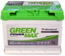 Автомобильный аккумулятор Green Power MAX 62 Ah (-/+) Euro (600EN) (22373) от Rozetka