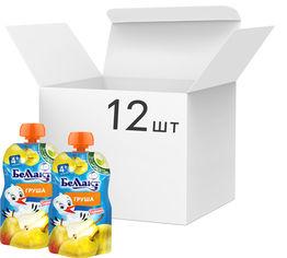 Упаковка детского пюре Беллакт Груша с 4 месяцев 12 шт х 90 г (4814716002694) от Rozetka