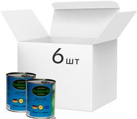 Упаковка влажного корма для собак Baskerville Ягненок и петух, 6 банок по 800 г (4250231597015-6) от Rozetka
