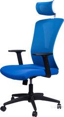 Кресло Barsky Mesh BM-05 White/Blue от Rozetka