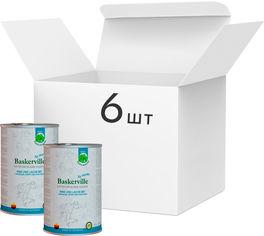Упаковка влажного корма для собак Baskerville Holistic Rind und Lachs Лосось и говядина 800 г 6 шт (4250231541889-6) от Rozetka