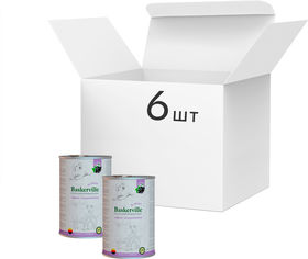 Упаковка влажного корма для собак Baskerville Super Premium Lamm Mit Johannisbeeren Ягненок и смородина 400 г 6 шт (4250231541780-6) от Rozetka