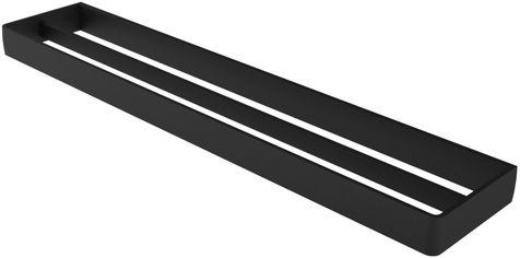 Полотенцедержатель двойной HACEKA Aline Mat Black 60 см 1196879 от Rozetka