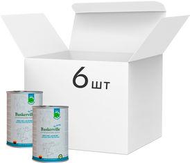 Упаковка влажного корма для собак Baskerville Holistic Rind und Lachs Лосось и говядина 400 г 6 шт (4250231541827-6) от Rozetka
