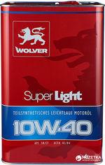 Моторное масло Wolver Super Light 10W-40 4 л (4260360940033) от Rozetka