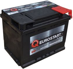 Автомобильный аккумулятор EUROSTART 60Ah Ев (-/+) (550EN) (560059055) от Rozetka