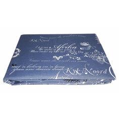 Скатерть Zastelli 5326 синяя 150х150 см от Podushka