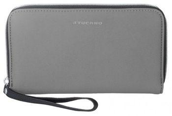Акция на Чехол - бумажник Tucano Sicuro Pochette Gray от MOYO