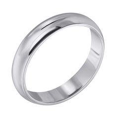 Серебряное обручальное кольцо 000102980 000102980 18 размера от Zlato