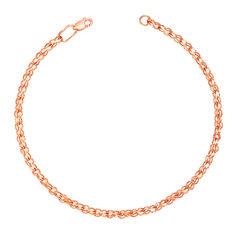 Золотой браслет Каути в плетении бисмарк ручеек 000101567 17 размера от Zlato