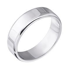 Серебряное обручальное кольцо 000043138 000043138 16.5 размера от Zlato