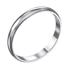 Серебряное обручальное кольцо 000119331 000119331 17.5 размера от Zlato