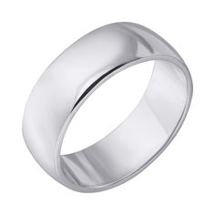 Серебряное обручальное кольцо 000121298 000121298 19 размера от Zlato