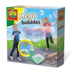 Набор для создания гигантских мыльных пузырей Мега пузыри SES (02251S) от Будинок іграшок