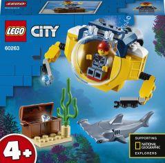 Акция на Конструктор LEGO City Океан: мини-подлодка 41 деталь (60263) от Rozetka