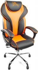 Кресло Barsky Sport Drive Tilt Chrome Orange (BSDchr-05) от Rozetka