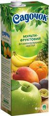 Упаковка Нектара Садочок Мультифруктовый нектар витаминизированный 1.45 л х 8 шт (4823063107440) от Rozetka