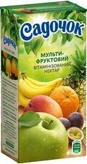 Упаковка Нектара Садочок Мультифруктовый нектар витаминизированный 0.5 л х 24 шт (4823063105293) от Rozetka