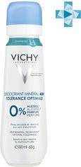 Акция на Дезодорант Vichy Deo Минеральный для очень чувствительной кожи 100 мл (3337875712361) от Rozetka
