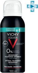Акция на Дезодорант Vichy Homme оптимальный комфорт чувствительной кожи 100 мл (3337875703154) от Rozetka