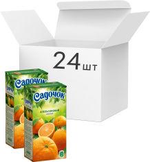Упаковка Нектара Садочок Апельсиновый нектар 0.5 л х 24 шт (4823063105507) от Rozetka