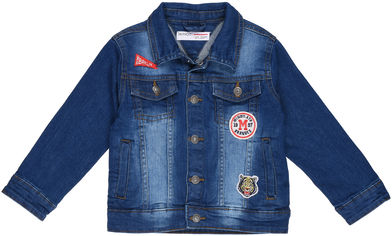 Джинсовая куртка Minoti Sneaker 8 12942 116-122 см Деним (5059030296766) от Rozetka