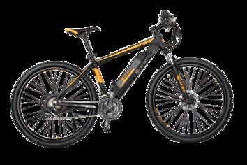 Электровелосипед Like.Bike Teal (Orange-Black) от Citrus