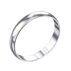 Обручальное серебряное кольцо 000133404 000133404 19.5 размера от Zlato