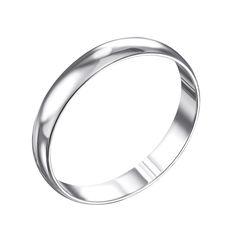 Обручальное серебряное кольцо 000133404 000133404 15 размера от Zlato