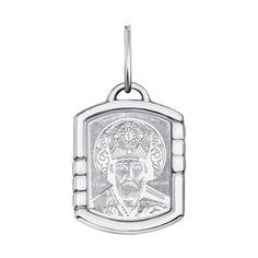 Серебряная ладанка Святой Николай Чудотворец 000135375 000135375 от Zlato