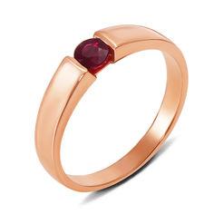 Кольцо из красного золота с рубином 000137447 000137447 17.5 размера от Zlato