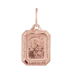 Ладанка из красного золота 000139920 000139920 от Zlato