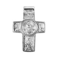 Серебряный крестик Святые Образы 000140683 000140683 от Zlato