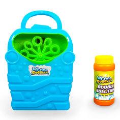 Набор Wanna Bubbles Пузырьковый генератор синий (BB168-2) от Будинок іграшок