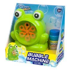 Набор Wanna Bubbles Генератор пузырьков Зеленый лягушонок (BB149) от Будинок іграшок