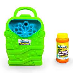 Баббл-генератор Wanna Bubbles зеленый 118 мл (BB168-1) от Будинок іграшок