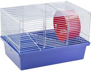 Акция на Клетка для грызунов Лорі Джунгарик 22.5 х 33 х 23 см Синяя (4823094309547) от Rozetka