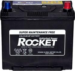 Автомобильный аккумулятор Rocket 6СТ-55 55 Ач (-/+) Asia 470 А (SMF 75B24LS) от Rozetka