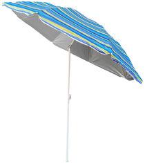 Зонт пляжный с наклоном Kodor Anti-UV Strips Green and Blue (ЗП180синезел) от Rozetka