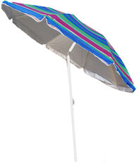 Зонт пляжный с наклоном Kodor Anti-UV Strips Pink and Blue (ЗП180синероз) от Rozetka