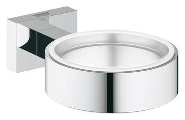 Акция на Держатель для мыльницы GROHE Essentials Cube 40508001 от Rozetka