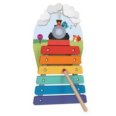 Настенная игрушка Oribel VERITIPLAY Ксилофон Паровоз (OR816-90001) от MOYO