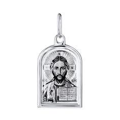 Серебряная ладанка Иисус Христос 000140411 000140411 от Zlato