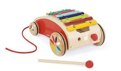 Игрушка-каталка Janod Ксилофон (J05380) от MOYO