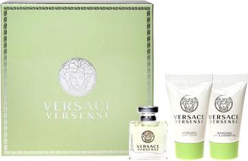 Набор для женщин Versace Versense туалетная вода 5 мл + лосьон для тела 25 мл + гель для душа 25 мл (8011003997138) от Rozetka