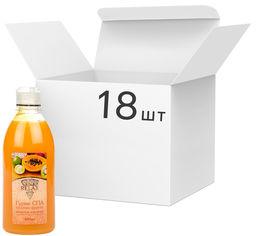 Акция на Упаковка крем-геля для душа Relax Тропические фрукты 400 мл х 18 шт (4820174691196_1) от Rozetka